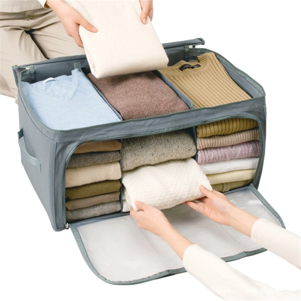 cca916365aa1 Non-woven fabrics Clothes Quilt Storage Bags Travel Bag