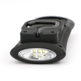 Battery Powered COB LED Camping Tent Lamp Outdoor Magnetic Working Folding Hook Torch Light