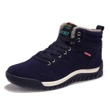 Big Size Men Comfortable Warm Fur Lining Ankle Boots Athletic Shoes