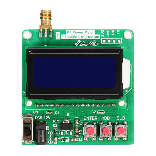 Radio Frequency Power Meter : Digital radio frequency power meter dbm