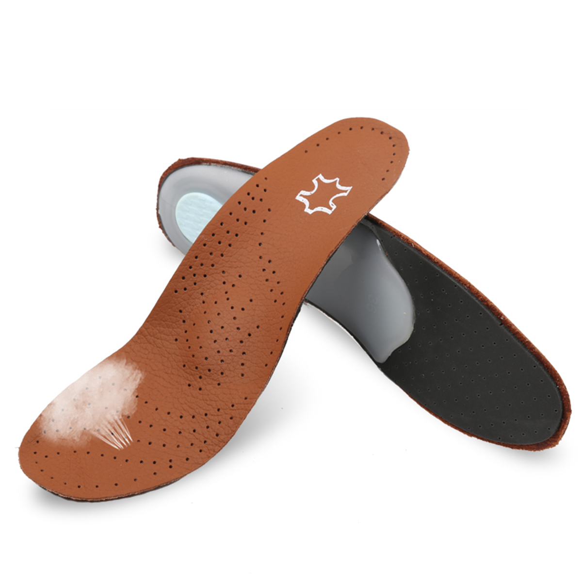 1pair length foot orthotic shoe insoles insert