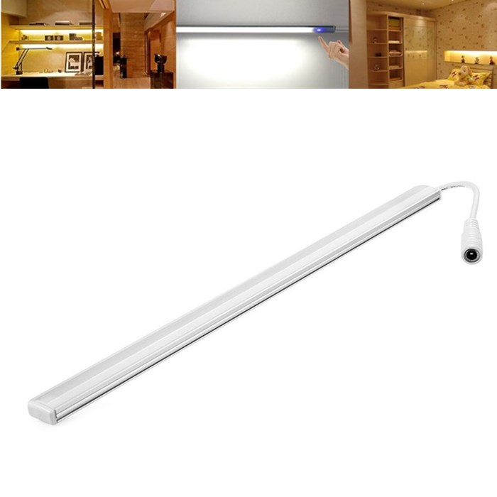 50cm 10w smd5730 dimmable touch sensor under cabinet kitchen led rigid bar light dc12v alex nld for 50cm kitchen cabinets