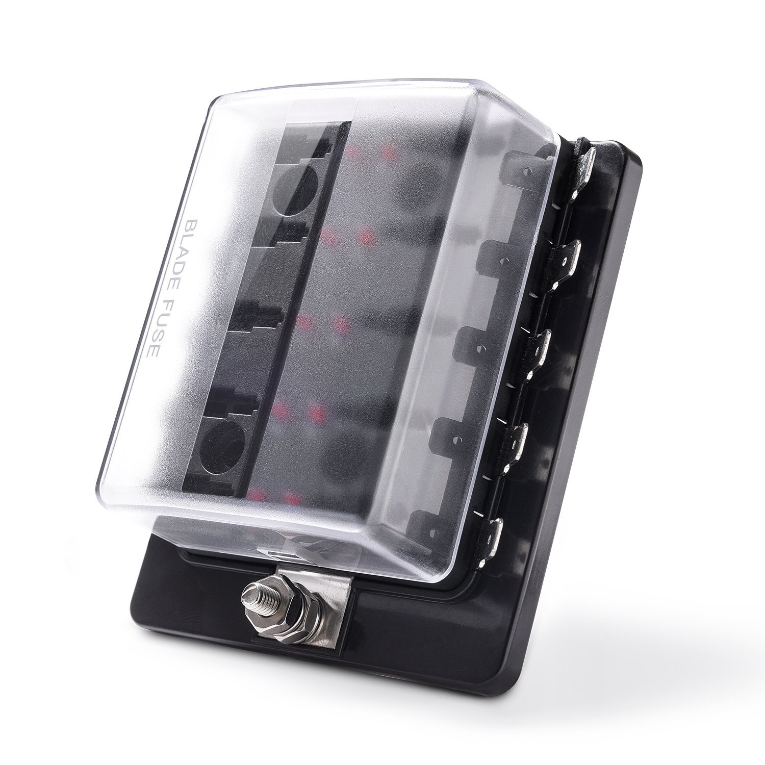 10 Way Blade Fuse Holder Box 32v Led Illuminated