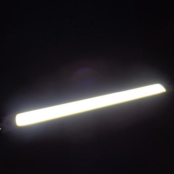 5W COB LED Chip DC12V Warm / Pure White 100x20mm for DIY Lamp Light