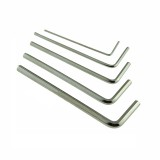 5pcs 0.9/1.5/2.0/2.5/3.0mm Mini Hexagon Hex Allen Key Wrench Screwdriver Set Tool Kit