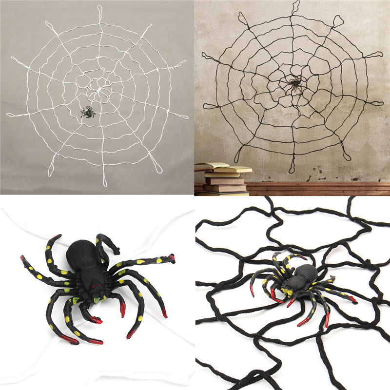 Web Decor: Halloween Party Home Decoration Large Spider Web Honor