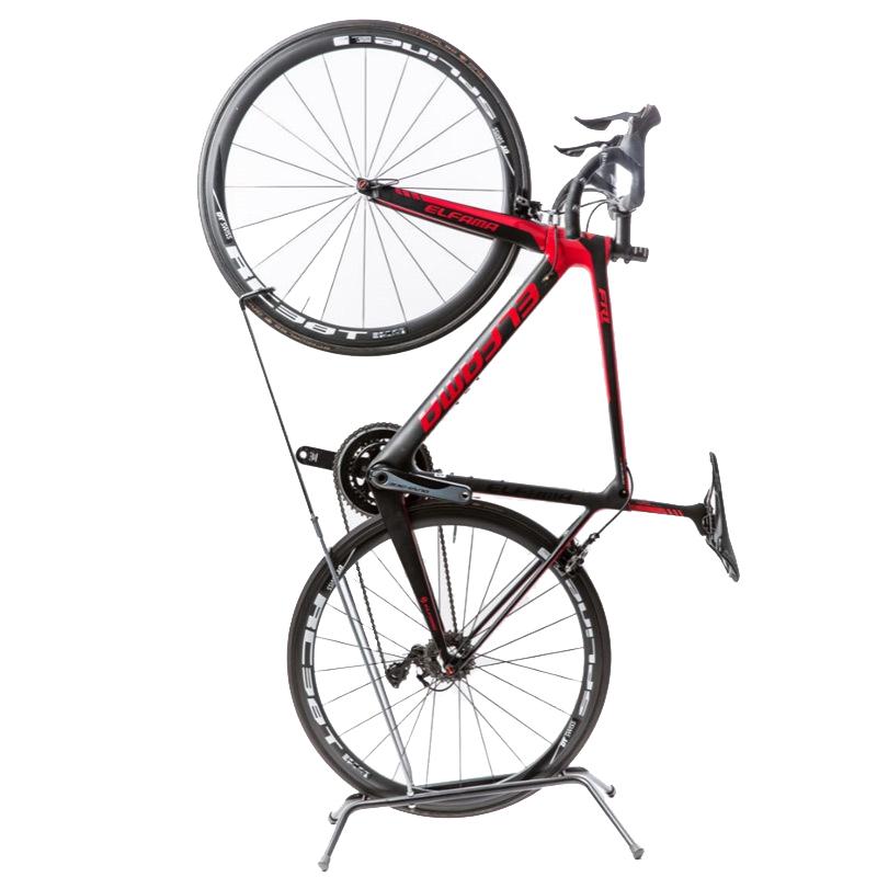 wheel up bicycle hanging vertical racks mountain bike road. Black Bedroom Furniture Sets. Home Design Ideas