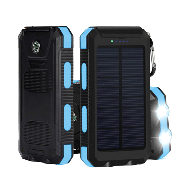 10000mAh Dual USB Solar Energy DIY Power Bank Battery Case ...