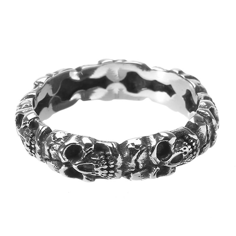 Trendy Skull Ring
