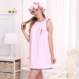 Honana BX-R977 Soft Bathrobe Women Bath Dress Microfiber Cozy Spa Bath Skirt with Bath Cap