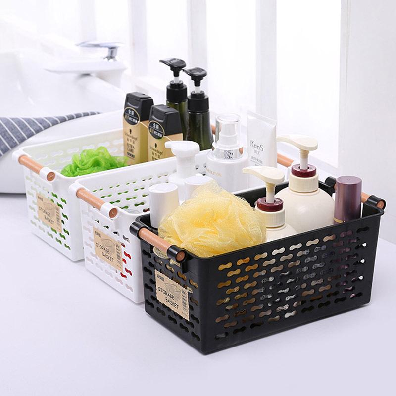 Plastic Kitchen Shelf: Plastic Kitchen Refrigerator Basket Fridge Storage Rack