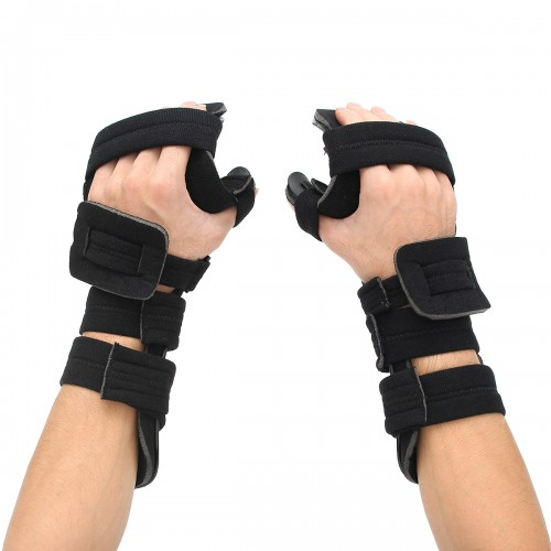 adjustable hand wrist hard support fracture sprain arthritis splint spasm brace. Black Bedroom Furniture Sets. Home Design Ideas