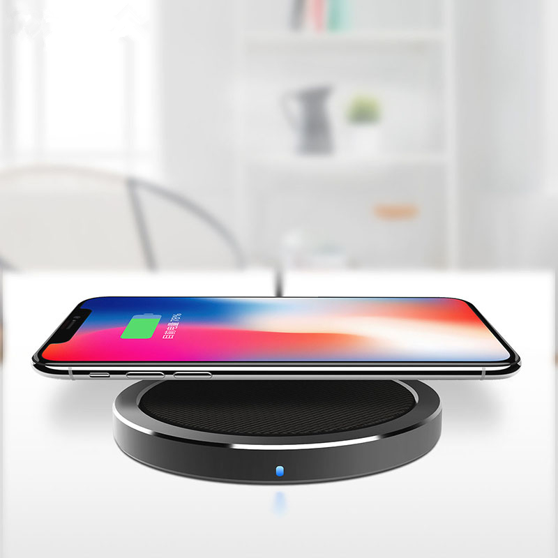 rapid charger iphone rock w4 2a qi wireless fast charging disk charger for 9814