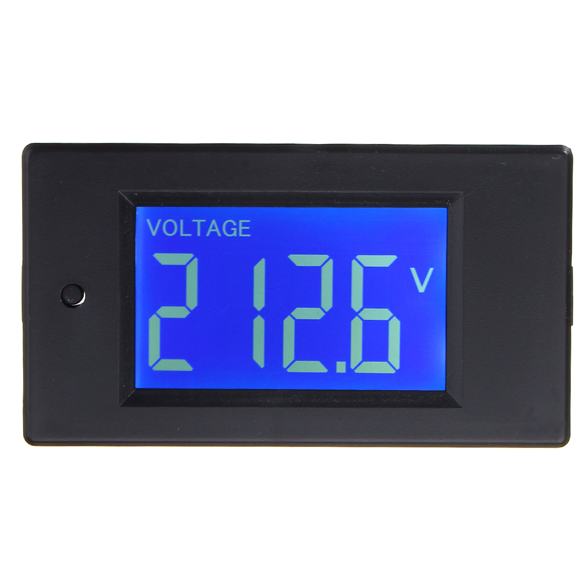 Multifunctional Ac Lcd Digital Voltage Current Tester Kwh Watt Panel And Battery Meter Gauge