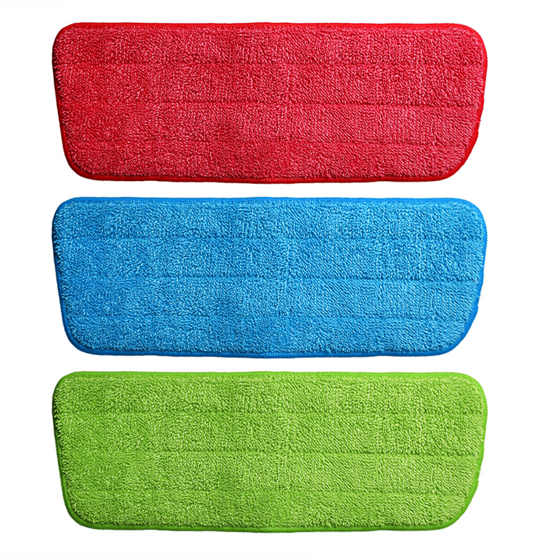 Microfiber Spray Mop Replacement Head Pads Floor Cleaning Cloth Paste to Replace Cloth Household Cleaning Mop Accessories