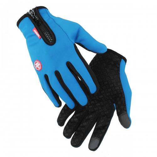 Screen Touch Bike Gloves Spring Autumn Keep Warm Moto Gloves Full Finger Motorbike Unisex