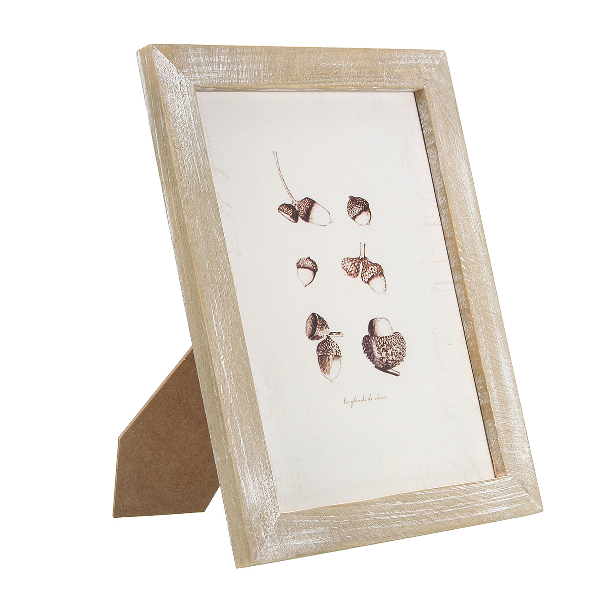 28x23cm/24x19cm Vintage Solid Wood Photo Picture Frame Wall Hanging Shabby Chic Room Decoration