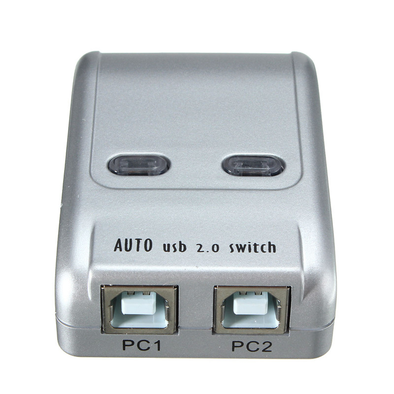 More Detailed Photos 2 Port Usb 20 Auto Printer Sharing Switch