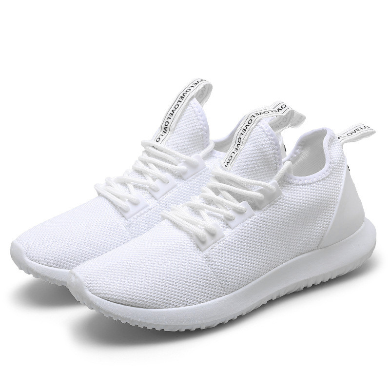 Men's Sports Shoes Breathable Soft Sneakers Running Casual ...