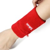 1 Pair Cotton Wrist Wrap Support Brace for Outdoor Basketball Volleyball Badminton
