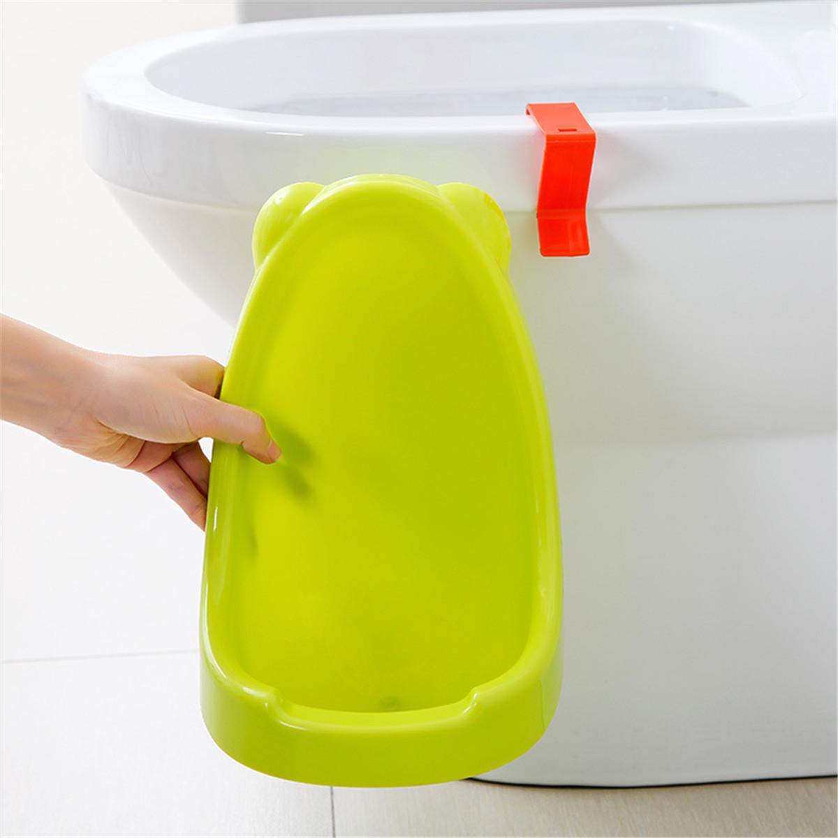 Children Toddler Standing Potty Toilet Urinal Baby Bathroom Hanging Pee Trainer