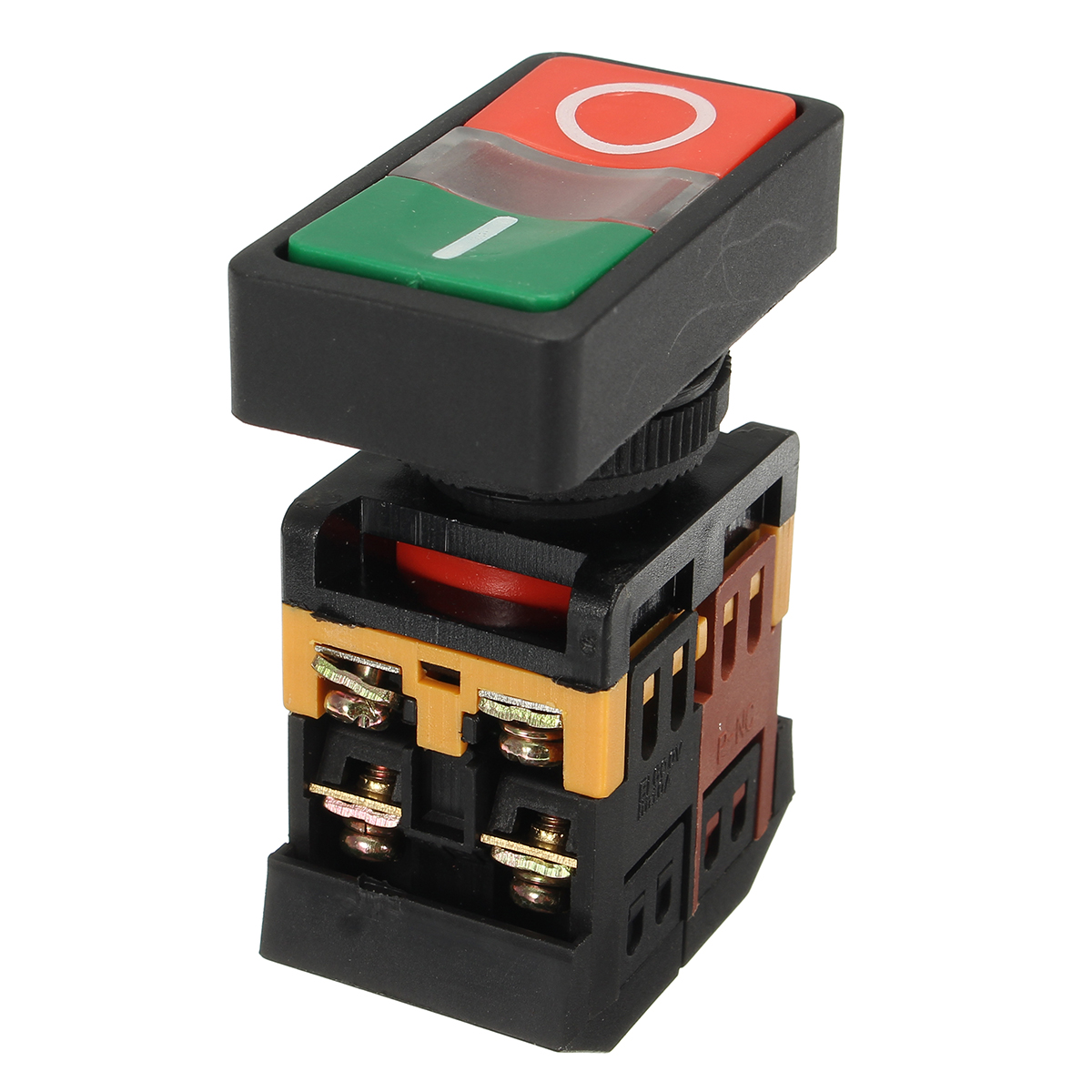 Ac 600v 10a On  Off Start Stop Momentary Push Button Switch