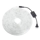 10M SMD3014 Colorful Warm White White Waterproof Flexible LED Tape Ribbon Strip Light AC220V