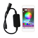 DC5V Bluetooth 4.0 APP Control Mini USB 4 Pin LED Controller for RGB Strip Light