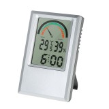 Digital Hygrometer Thermometer Garden Temperature Humidity Meter Max Min Value Alarm Clock Comfort Level Testing Tools