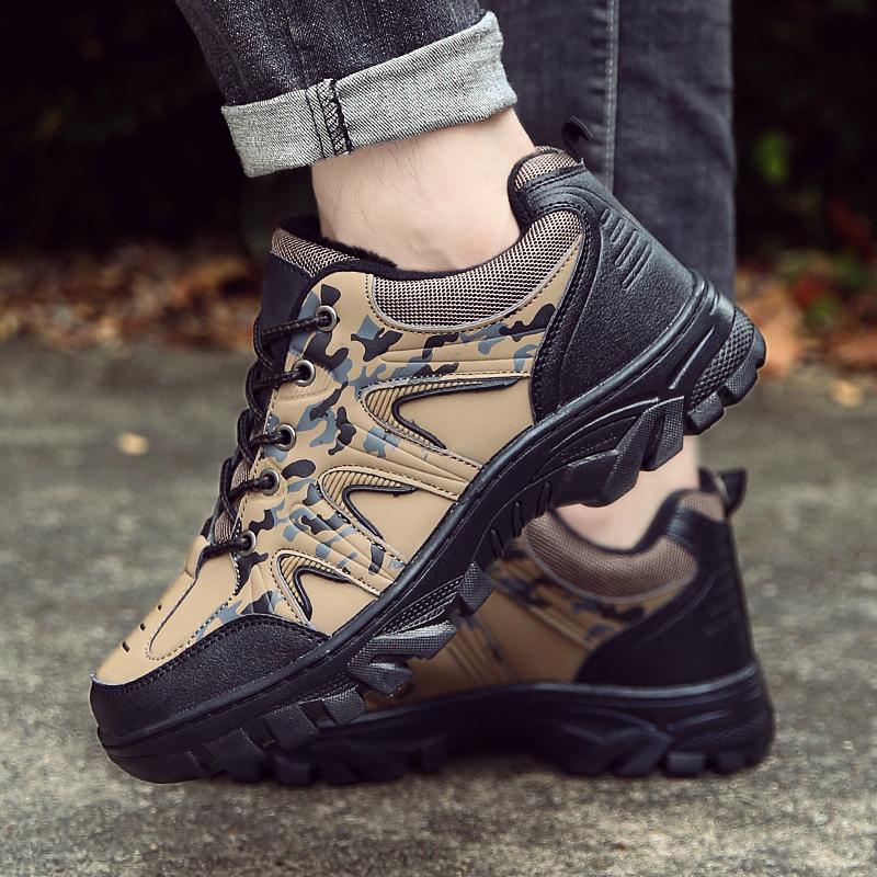 Outdoor Men Shoes Breathable Windproof Climbing Waterproof Anti-slip Wear-resistant Hiking Sneakers