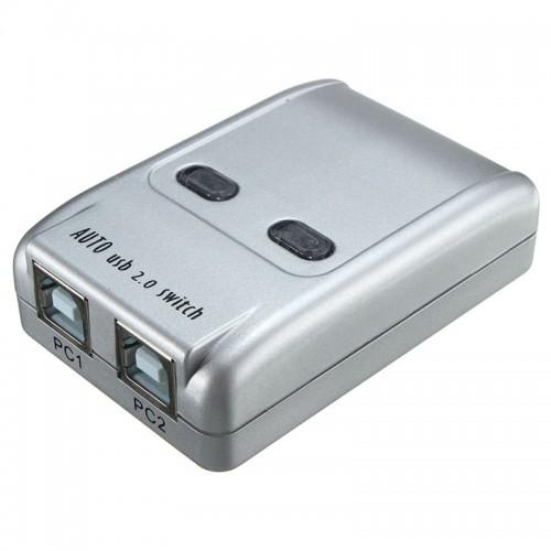 2 Port Usb 20 Auto Printer Sharing Switch HUB Selector