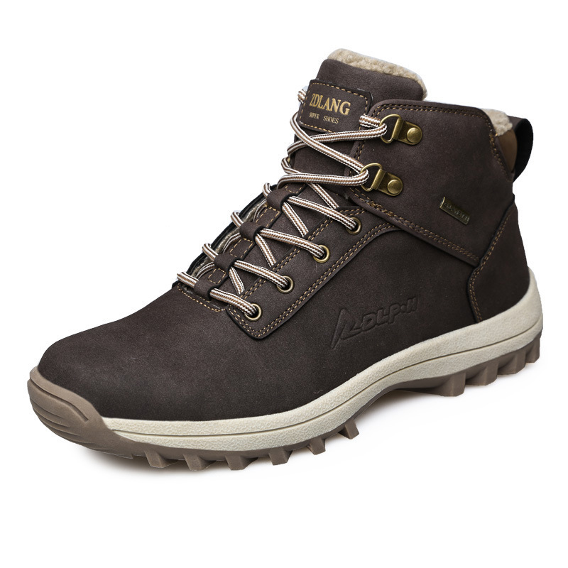 Men's Winter Snow Boots Outdoor Fashion Sneaker Super Warm