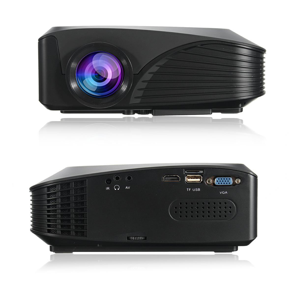 3200lumens Hd Home Cinema Theater Multimedia 3d 1080p Led: 1080P HD 7000 Lumens 3D LED Projector Multimedia Cinema
