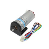 CHIHAI MOTOR 6V 100RPM Encoder Motor DC Gear Motor with Fixed Support Mounting Bracket