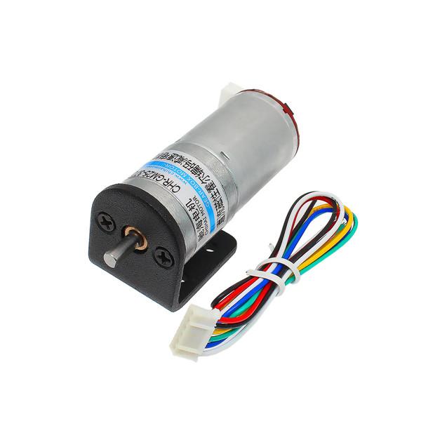 Chihai motor 6v 100rpm encoder motor dc gear motor with for Dc gear motor 6v