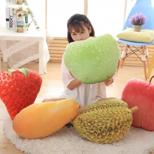 Honana WX-558 New 3D Simulation Fruit Pillow Decorative Cushion Throw Pillow With Inner Home Decor Sofa Emulational Toys