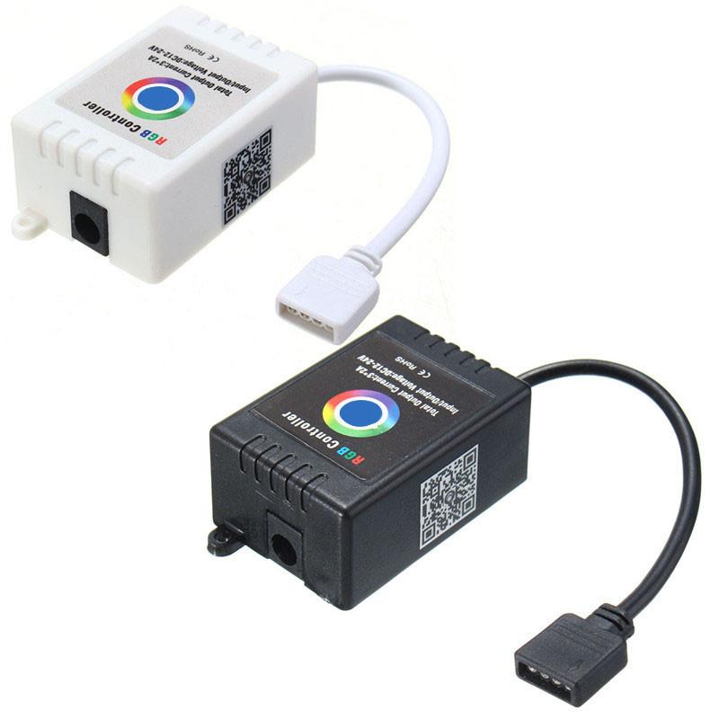 Wireless Bluetooth Music Smartphone APP Remote Controller For 5050 RGB LED Strip DC12-24V
