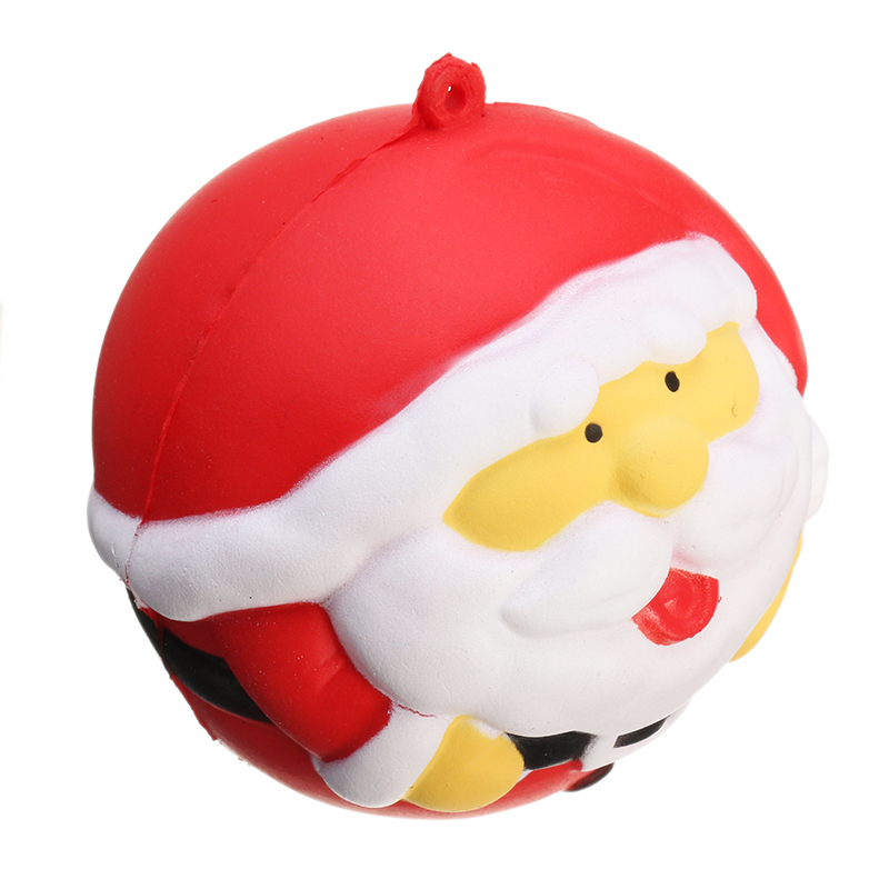 Squishy Fun Squishy Snowman Father Christmas Santa Claus 7cm Slow Rising With Packaging Collection Gift Decor