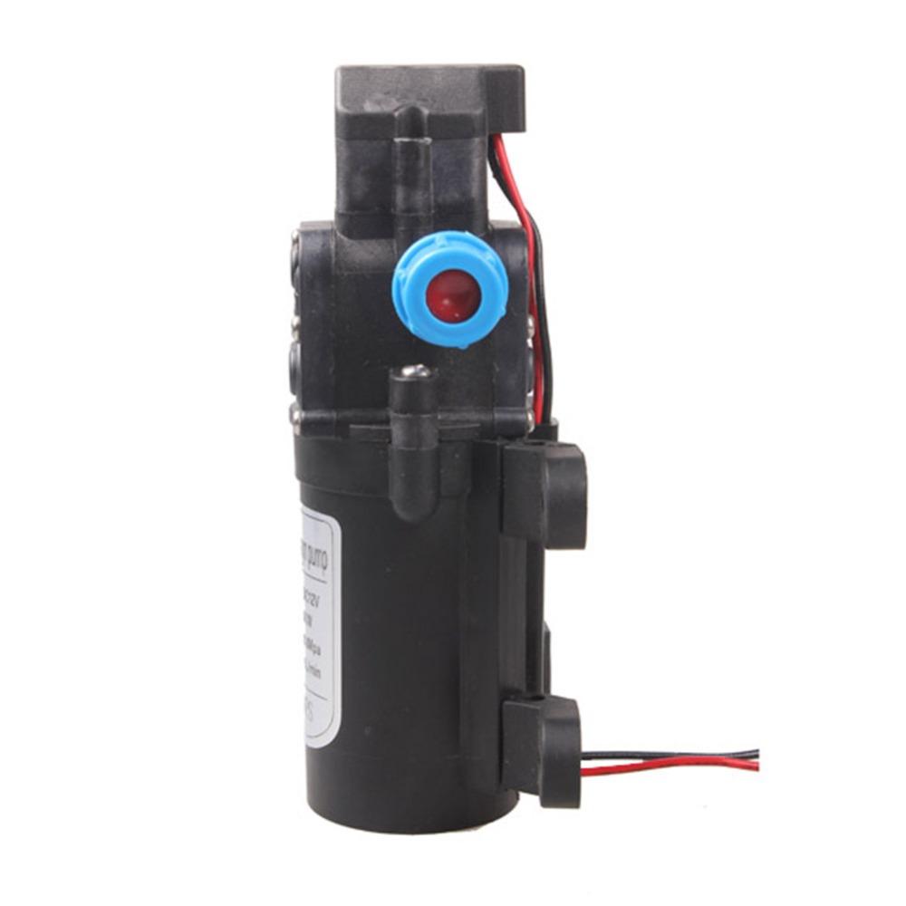 12V 60W High Pressure Micro Diaphragm Water Pump Automatic Switch 5L/min Range 8m Diaphragm
