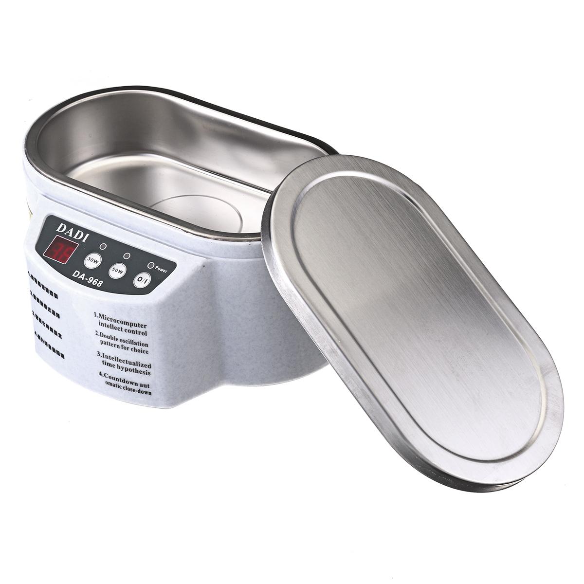 Mini Ultrasonic Cleaner Bath Machine For Cleaning Jewelry Glasses Circuit Transmitter Board