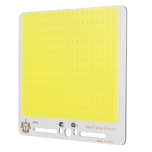 Super Bright DC12V 30W COB LED Chip 130X120mm for DIY Flood Light Outdoor Camping Lamp