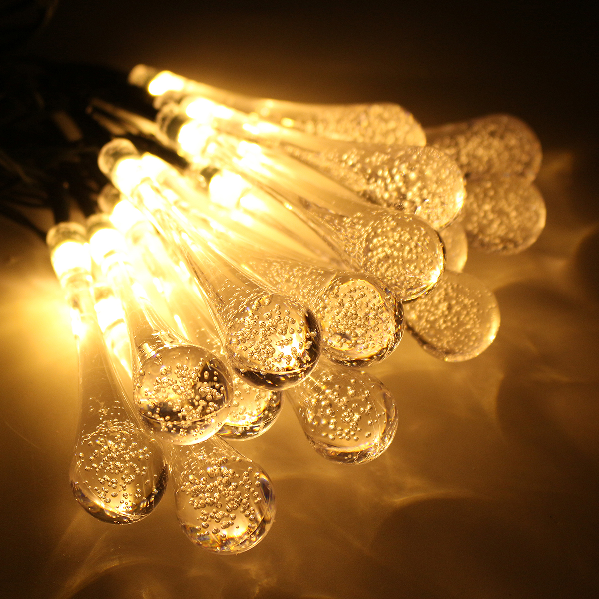 Solar Powered 30LEDs 8 Modes Fairy String Lights for Indoor Outdoor Christmas Garden Patio Party