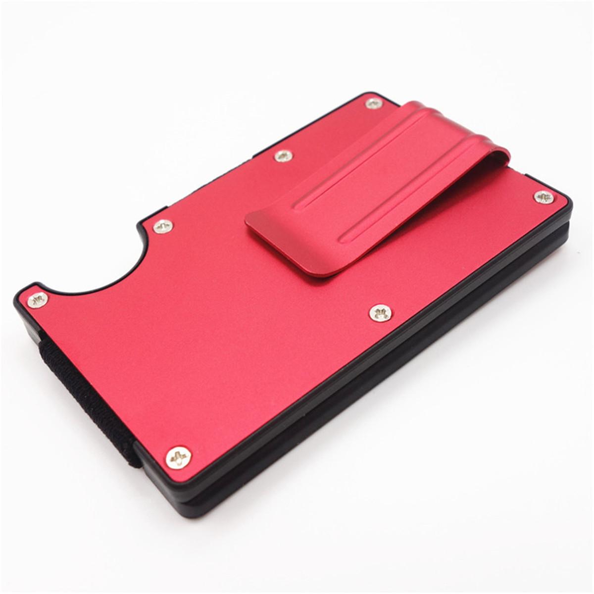 Rfid Blocking Metal Wallet Slim Minimalist Credit Card Holder Money