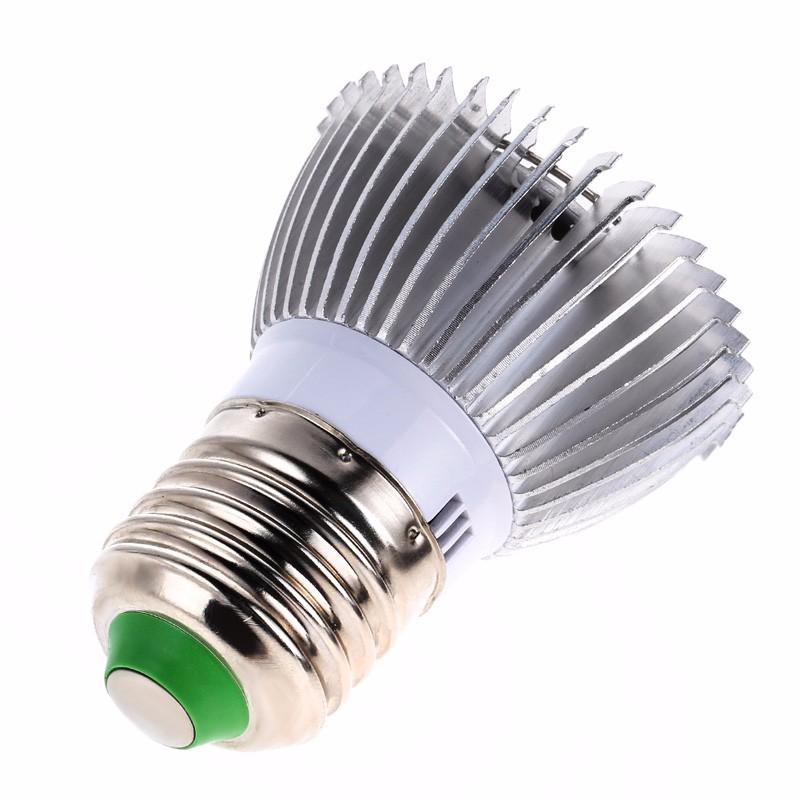 Garden plant e27 18 28 led grow light bulb full spectrum for Indoor gardening light bulbs