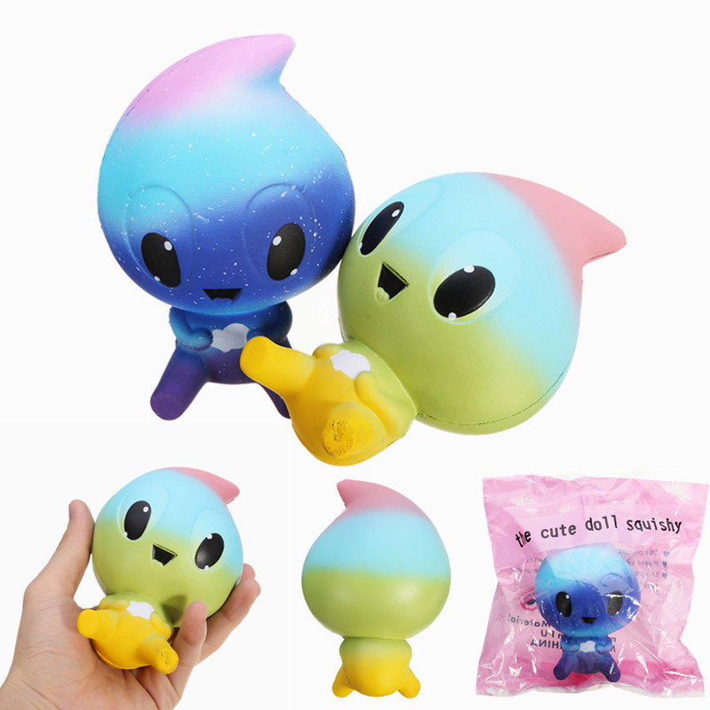 SquishyShop Water Drop Doll Squishy 12.5cm Soft Slow Rising With Packaging Collection Gift Decor ...