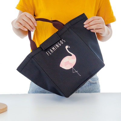 Fashion Portable Insulated Oxford lunch Bag Thermal Food Picnic Lunch Bags for Women kids Men Cooler Lunch Box Bag