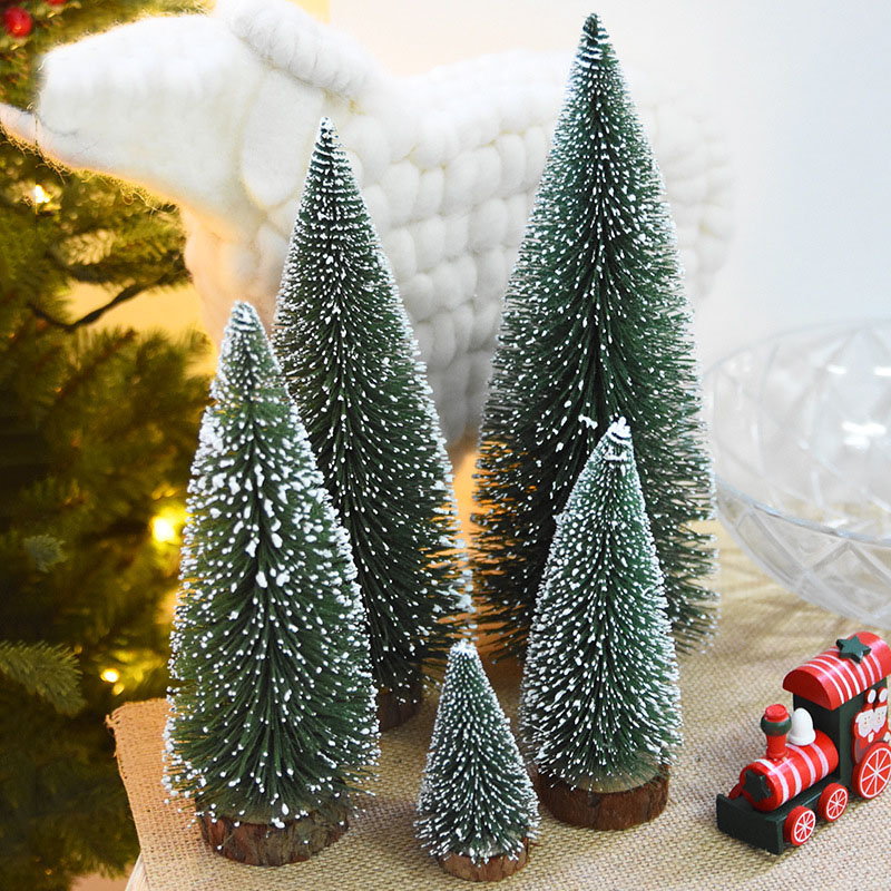 DIY Mini Christmas Tree Small Pine Tree Cedar Placed In