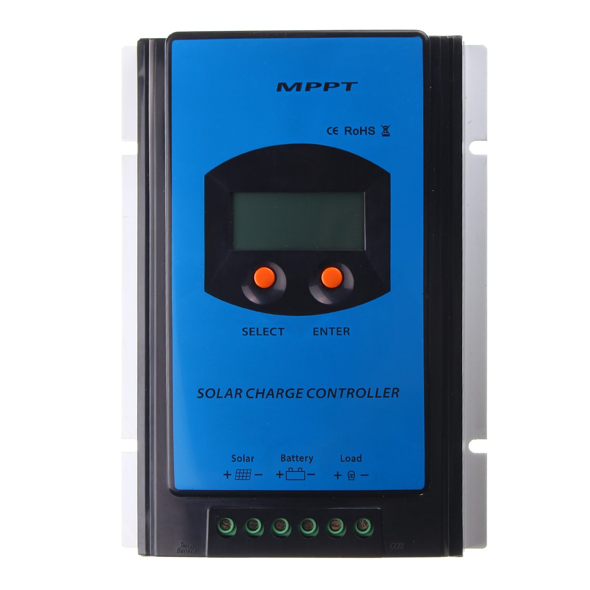 Solar Panels To Batteries Via Regulator 10 20 30 40a 12v Usb Panel Battery Charge Intelligent Controller