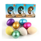 1Pcs Large Funny Magic Growing Hatching Eggs Christmas Child Toy Gifts