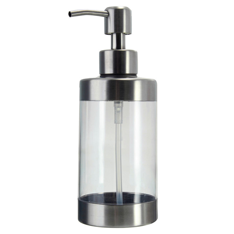 Manually bathroom shower body lotion shampoo lotion cream for Liquid soap dispenser for bathroom
